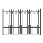 ALEKO® ST.PETERSBURG Steel Fence 8' x 5'