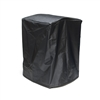 Heavy Duty Fire Pit Cover - Black - 22 x 22 x 31 Inches - ALEKO