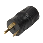 ALEKO GAD3050 Generator RV Adapter Plug 30A Male to 50A Female 125V