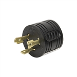 ALEKO GAD330 UL Generator Adapter Plug General 30A 3Pin Male to RV 30A Female 125V