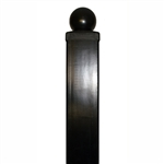 "ALEKO® Gate Post 8' x 3.5"" x 3.5"" for Driveway Steel Gates"