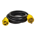 ALEKO GEC310 Generator Extension Cord ETL Listed 30A 125V 60Hz 10/3 3PIN, 10 Feet (3.05 m)