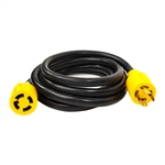 ALEKO  GEC410 Generator Extension Cord ETL Listed 30A 125/250V 10/4 4PIN, 10 Feet (3.05 m)