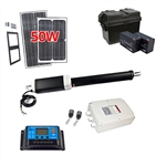 Single Swing Gate Operator - GG450/AS450 AC/DC - Solar Kit 50W - ALEKO