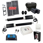Dual Swing Gate Operator - GG900/AS900 AC/DC - Solar Kit 60W - ALEKO