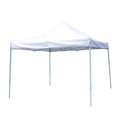 Canopy Party Tent - 420D Oxford - 10 x 10 Feet - White