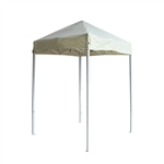 ALEKO® GZF5X5BG 5 X 5 Foot (1.5 X 1.5 m) Gazebo Tent 420D Oxford, Cream