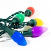 Electric Big Bulb String Lights - 25 LED - 25 Foot - Multicolored - ALEKO