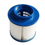 Water Filter Cartridge for Inflatable Hot Tub Spa - Blue - ALEKO