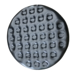 Inflatable Round Insulator Top for 4-Person Inflatable Hot Tub - Black - ALEKO