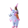 Halloween Inflatable Party Costume - Princess Unicorn Rider - Adult - ALEKO