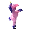 Halloween Inflatable Party Costume - Pretty Pink Unicorn - Adult - ALEKO