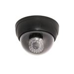 ALEKO  DCD01NEW Dummy Replica Surveillance Imitation Dome Camera With LED, Black