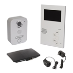 ALEKO JT418KJT217JT826 Video Door Phone Villa Intercom System With Indoor Monitor, Outdoor Station And Skybox