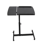 Adjustable Computer Standing Desk - 24 x 16 Inches - Black - ALEKO