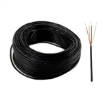 Black Stranded Wire - LM150 - 5-Core - 20 Feet - ALEKO