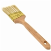 Angle Sash Polyester Paint Brush with Wooden Handle - Gold-Plated Steel Ferrule - 2.5 Inches - ALEKO