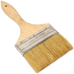 Chip Paint Brush with Wooden Handle - 4 Inches - ALEKO