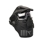 ALEKO PBM225BK Tactical Army Military Anti Fog Paintball Mask with Double Elastic Strap, Black