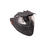ALEKO  PBSRDLM06BK Anti Fog Paintball Face Mask With Visor Full Coverage Protection Gear, Black
