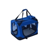 ALEKO Heavy Duty Portable Collapsible 19 X 14 X 13.5 Inches (48.3 X 35.6 X 34.3 cm) Pet Traveler Carrier with Mat (Choose your color)