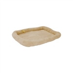 ALEKO® PCM04ML Medium Large Soft Plush Beige  Pet Bed Mat