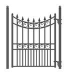 Moscow Style Steel Pedestrian Gate 5'