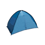 PTB18 Large Outdoor Portable Instant Pop Up Beach Sun Shelter Tent, Blue
