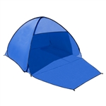 PTB21 Outdoor Portable Instant Pop Up Beach Sun Shelter Tent, Blue