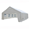 ALEKO Heavy Duty Outdoor Canopy Tent with Windows - 20 X 30 Feet - White