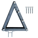Roof Bracket for Half Cassette Awnings - Dark Gray - ALEKO