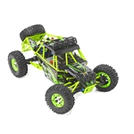 Off-Road High Speed Rock Climbing Remote Controlled Car - 1:12 Scale - Lime Green - ALEKO