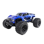 Brushless Off-Road PRO 4WD Electric Powered RC Monster Truck - 1:10 Scale - Blue - ALEKO