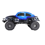 Rock Crawler Off-Road 4WD Electric Powered RC Car - 1:10 Scale - Blue - ALEKO