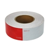 Reflective Red and White Safety Tape - 2 Inch x 150 Ft