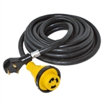 ALEKO® RV30-25M 25' (7.62m) 30Amp RV Cord With Detachable Receptacle Male Plug With Handle