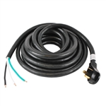 "ALEKO® RV30-30 30' (9.2m) 30Amp Power Cable With male terminal and 6"" loose end"