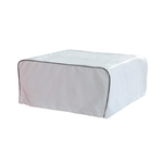 Weather-Resistant RV Air Conditioner Cover - 32 x 30 Inches - White - ALEKO