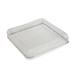 Stainless Steel RV Bug Vent Screen - 6.75 x 6.75 x 1.3 Inches - ALEKO