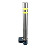 ALEKO® Silver Removable Fixed Parking Bollard