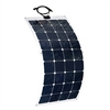 ALEKO® 125-Watt Semi Flexible Solar Monocrystalline Panel 12V Solar Module Power System