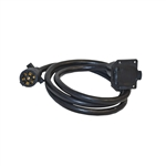 "ALEKO® TC7E7 7"" (2.1m) Trailer Wire Extension With Male and Female Connectors"
