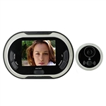ALEKO  TS-DSC01 3.5 inch (8.9 cm) 170 degrees Wide Angle Peephole TFT LCD Digital Video Door Security Camera