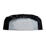 Weather-Resistant Triple Axle RV/Car Tire Cover - Up to 29 Inches - Black - ALEKO