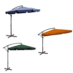 10 Ft Adjustable Outdoor Hanging Umbrella
