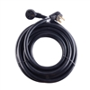 ALEKO  WECHW8A25 Heavy Duty ETL Welder Extension 8 AWG 25 Feet (7.6 m) Cord, Black