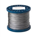 ALEKO® WR1/16G304F1000 1/16 Inch 7X7 304 Stainless Aircraft Steel Cable Wire Rope 1000 Feet