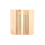 Sauna Lamp Shade in Finish Pine Wood - ALEKO