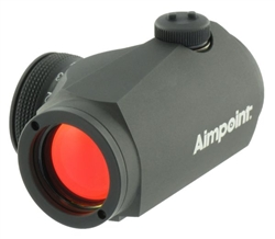 AIMPOINT Micro H-1 4 MOA Micro Red Dot Sight (No Mount - Cardboard Box)