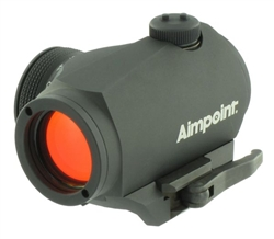 AIMPOINT Micro H-1 4 MOA Micro Red Dot Sight W/ LRP Mount & 39mm Spacer